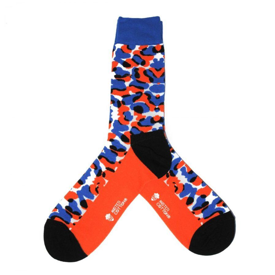 calcetines divertidos leopardo