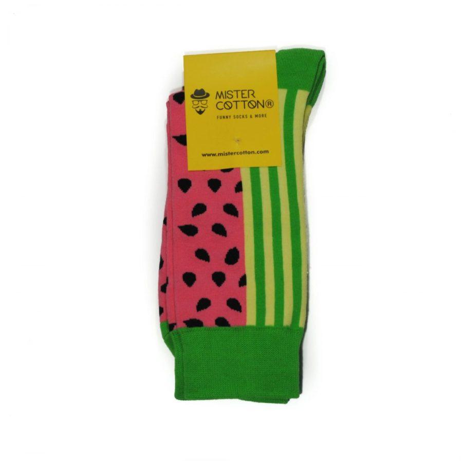 calcetines de frutas