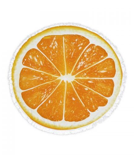 toalla orange cut