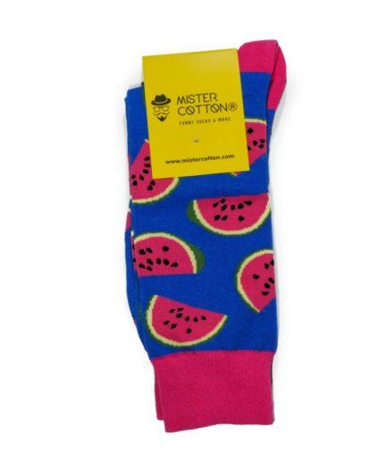 Calcetines de sandias coloridos