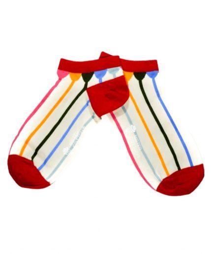 calcetines divertidos cortos