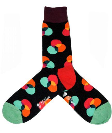 Additive colors sock