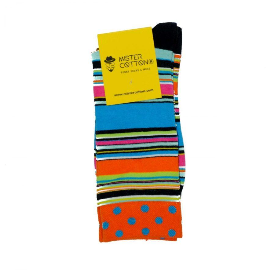 Calcetines divertidos de colores