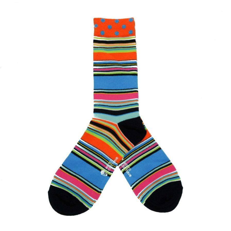 Calcetines de colores divertidos