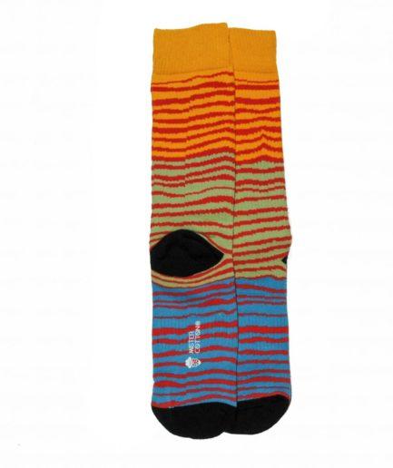 calcetines deportivos de tigre